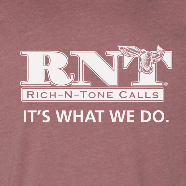 RNT Mauve Logo T-Shirt - NEW