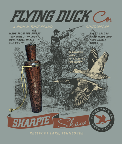 Flying Duck Co. Sharpie Shaw T-Shirt - NEW