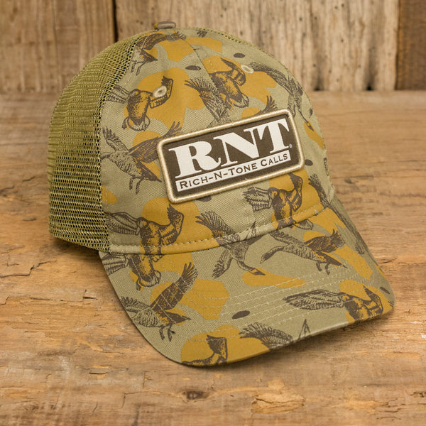 RNT Duck Pattern Mesh Back