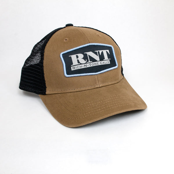 RNT Mustard/Black Patch Hat