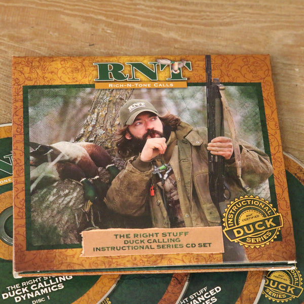 Instructional Series Trilogy Duck Calling CD