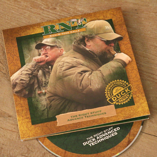 Advanced Techniques Duck Calling CD