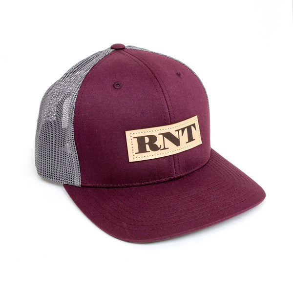 Since Forever Burgundy Patch Hat - NEW