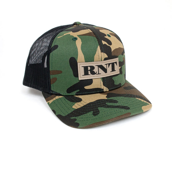 Since Forever Camo Patch Hat - NEW