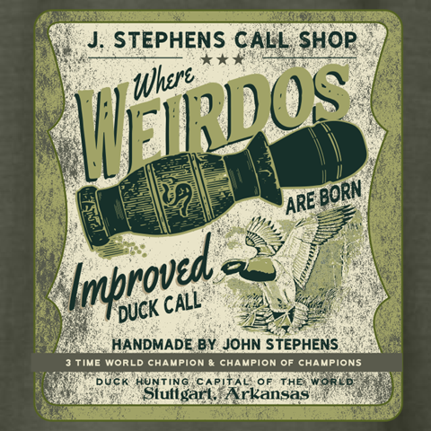J. Stephens Calls Weirdo Pocket Shirt