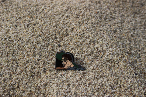 Point Break Keanu Pin