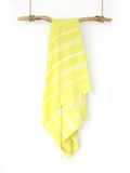 Yellow Cali Hammam Towel
