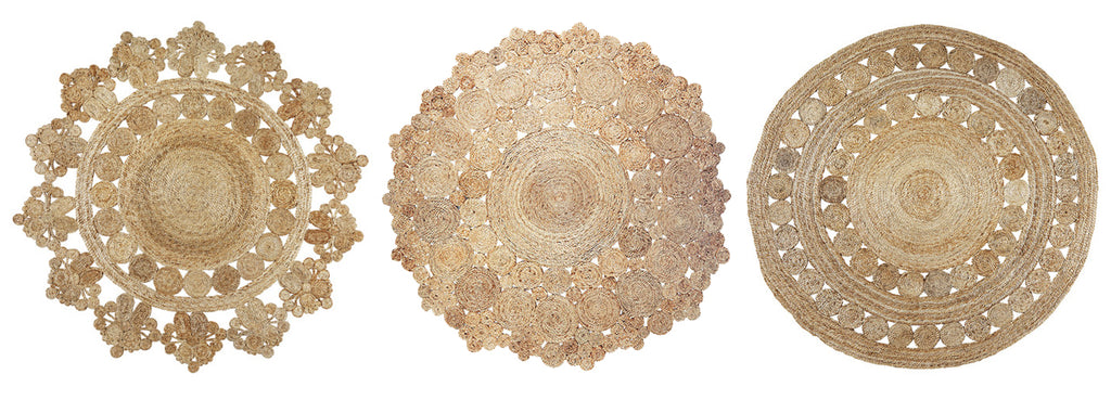 Round Jute Rugs UK | Decorative, Rustic, Boho