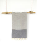 Ibiza Hammam Towel, Grey