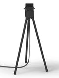 VITA Tripod Table Lamp Base Black