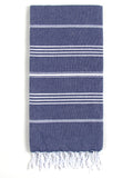 Cali Hammam Towel, Dark Blue