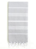 Cali Hammam Towel, Grey