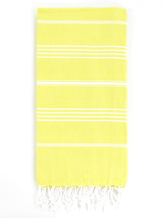 Cali Hammam Towel, Yellow