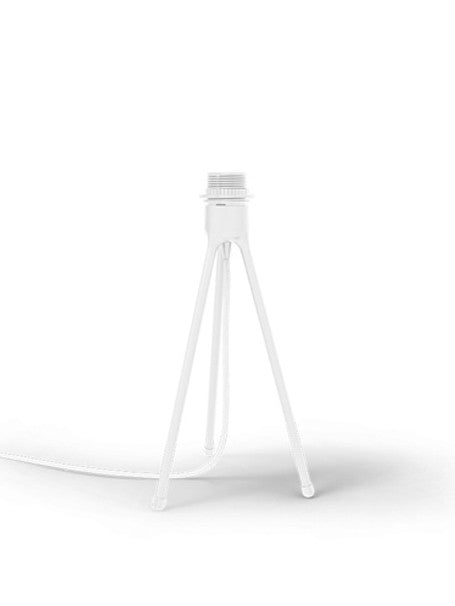 VITA Tripod Table Lamp Base White