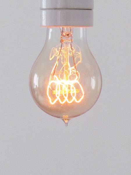 Vintage Edison Quad Loop Filament Light Bulb, E27 40w