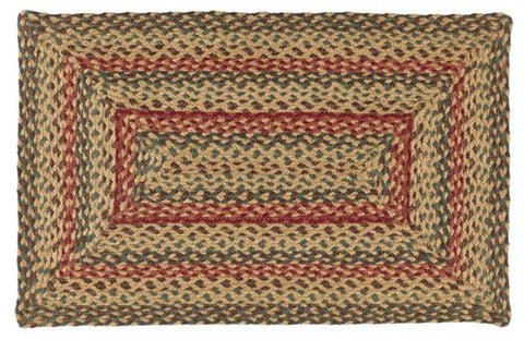"Bistro 20""X30"" Braided Rug Rect"