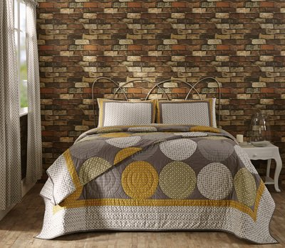 King Paloma Quilt Set - 3 Piece