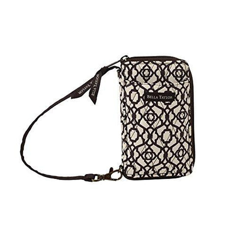 Cocoa Trellis All-In-One-Wristlet