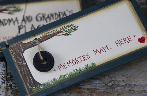 "Create Your Own ""Memories Made Here"" Sign"