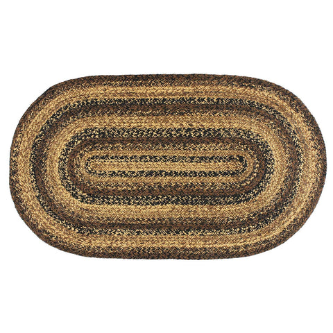 Cappuccino Braided Oval Rug - 4ft. x 6ft.