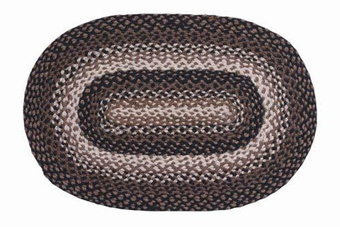 Stallion Braided Oval Rug - 22in. x 72in.