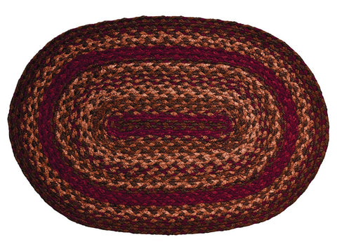 Cinnamon Braided Placemat - Set of 4