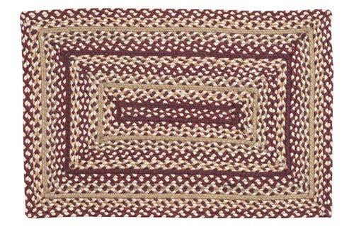 Checkerberry Braided Rectangle Rug - 36in. x 60in.