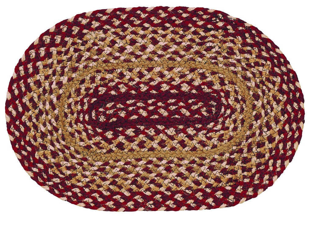 Checkerberry Braided Swatch - Set of 2