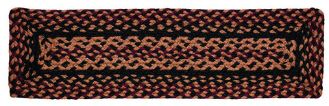 Blackberry Braided Stair Tread Rect