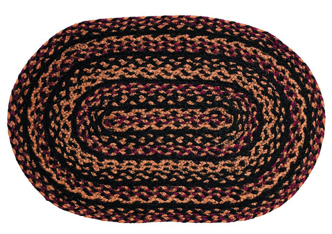 Blackberry Braided Placemat - Set of 4