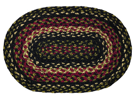 Tartan Braided Swatch - Set of 2