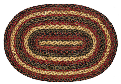 Montana Braided Oval Rug - 20in. x 30in.