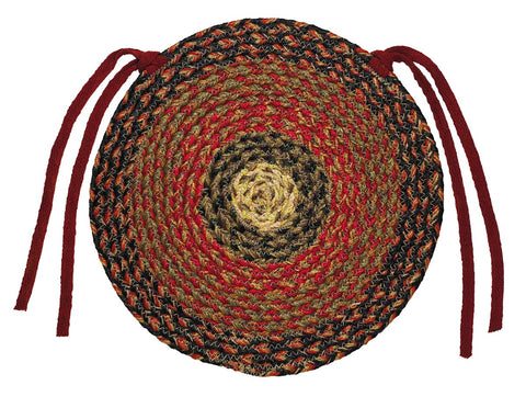 Montana Braided Chair Pad - Set of 2