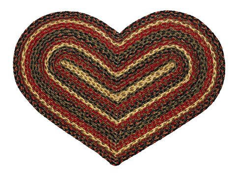 Montana Braided Heart Rug