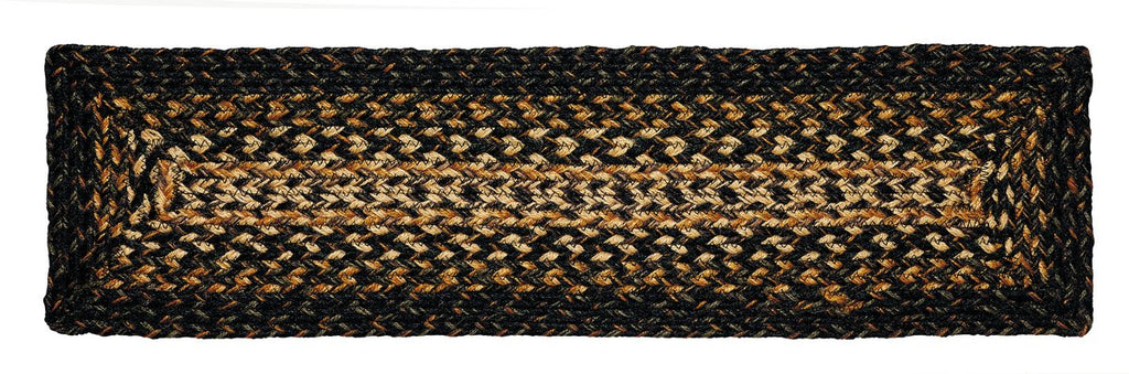 Black Forest Braided Rectangle Stair Tread