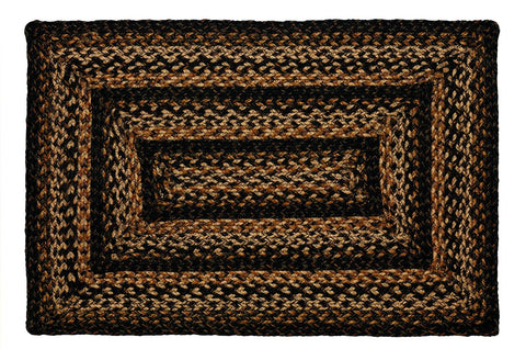 Black Forest Braided Rectangle Rug - 20in. x 30in.