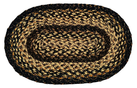 Black Forest Braided Swatch - Set of 2