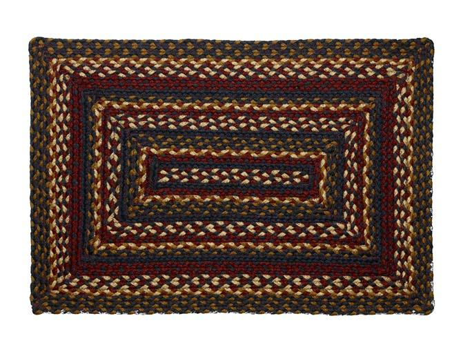 Blueberry Braided Rectangle Rug - 27in. x 48in.