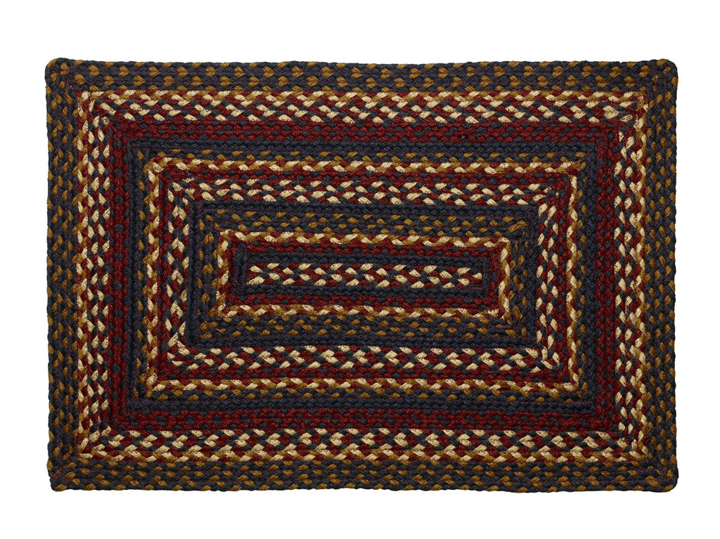 Blueberry Braided Rectangle Rug - 20in. x 30in.