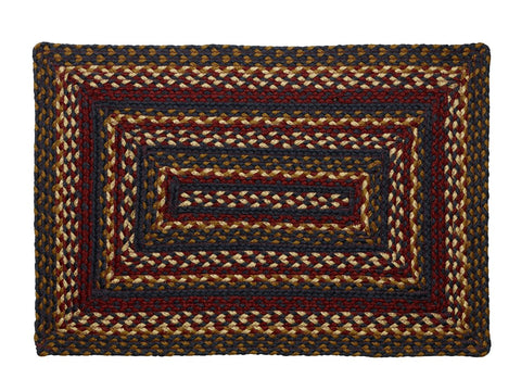 Blueberry Braided Rectangle Rug - 6ft. x 9ft.