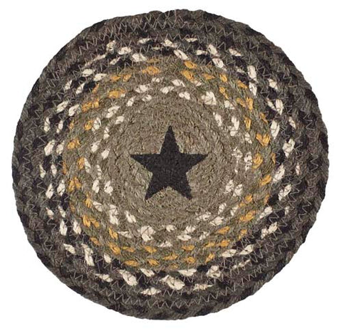 "Dartmouth Star 8"" Braided Trivet - Set of 2"