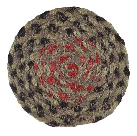 "Granville 4.5"" Braided Coaster - Set of 4"
