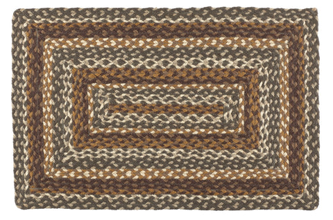 "Cedar Grove 22""X72"" Braided Rug Rect"