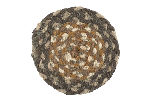 "Cedar Grove 4.5"" Braided Coaster - Set of 4"
