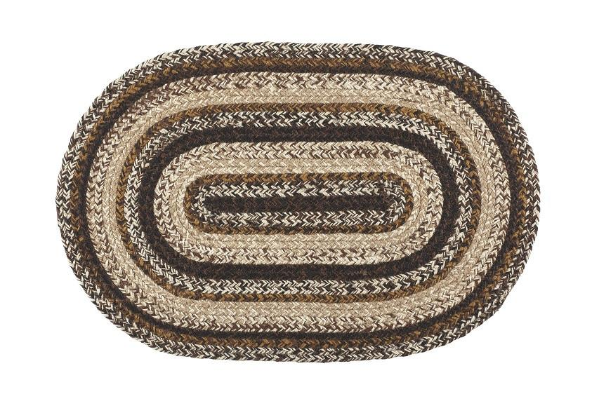 "Chestnut Lane 20""X30"" Braided Rug Oval"