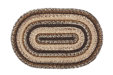 Chestnut Lane 6'X9' Braided Rug Oval