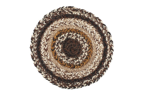 "Chestnut Lane 8"" Braided Trivet - Set of 2"