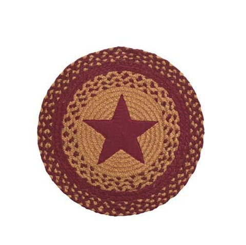 Star Wine Round Table Accent - Set of 2
