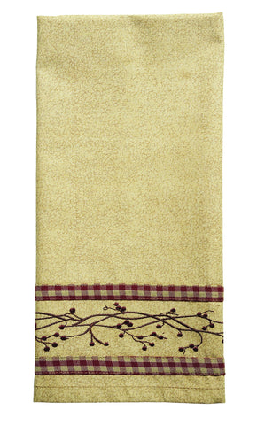 Checkerberry Dishtowel