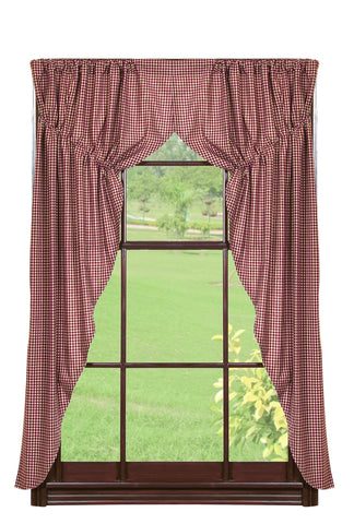 Checkerberry Prairie Curtain Set